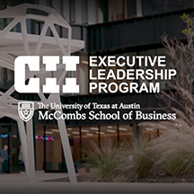 CII Executive Leadership Program